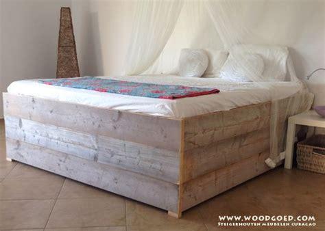 steigerhout bed 2 persoons steigerhout bed 2 persoons google zoeken slaapkamer