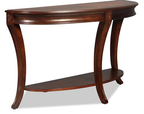 Winslet Sofa Table Cherry Levin Furniture Sofa Table Cherry