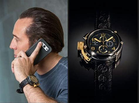 u boat watch pin nicolas cage joins famous celebs who wear u boat watches