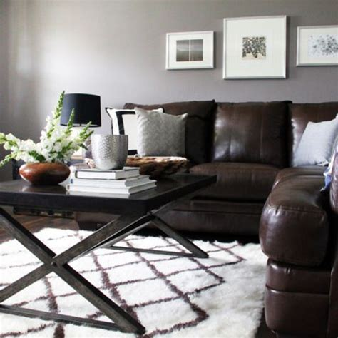 Grey And Brown Living Room Decor Ideas by Best 25 Brown Decor Ideas On Brown Sofa