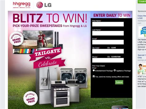 Hhgregg Sweepstakes 2014 - hhgregg blitz to win sweepstakes sweepstakes fanatics