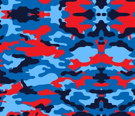 army pattern fabric camouflage red and blue camo army fabric jamesdean