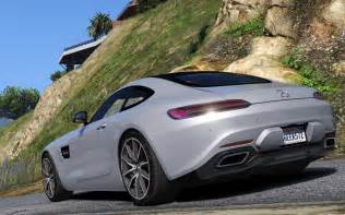 Mercedes Benze Amg 2016 Mercedes Amg Gt Add On Gta5 Mods