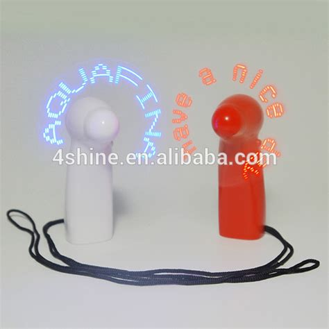 Digital Led Message Fan innovative products led fan with programmable message led
