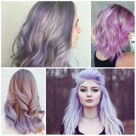 light purple hair color hair color trends 2016 ideas and highlights for your
