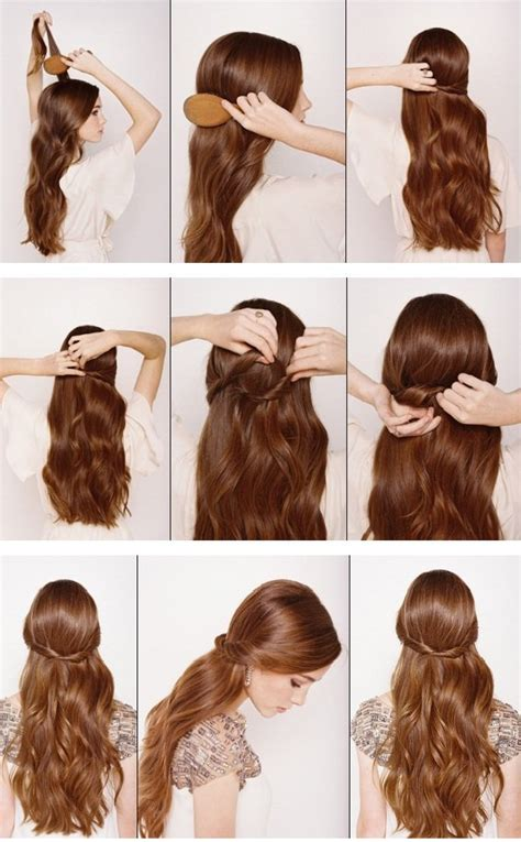 simple  easy lazy girl hairstyle tips