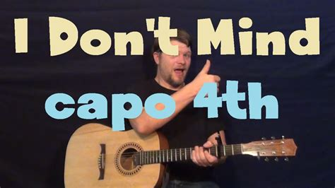 dance tutorial i don t mind i don t mind usher easy guitar lesson how to play