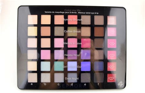 Sephora Color My sephora collection color my eye and lip makeup tablet