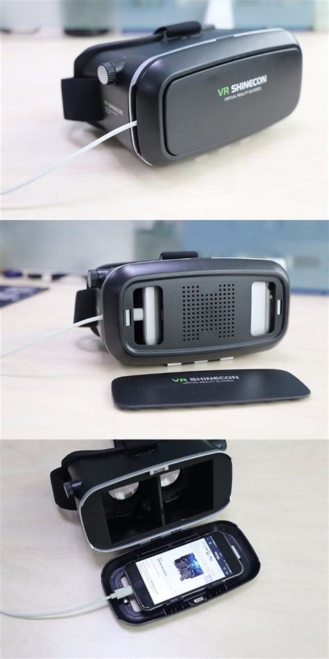 Sale Cardboard Reality For Smartphone vr shinecon reality 3d glasses vr box cardboard