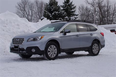silver subaru outback ice silver in the snow seems more blueish subaru