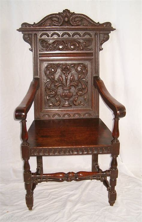 Wainscot Chairs For Sale by Oak Wainscot Chair Antiques Atlas