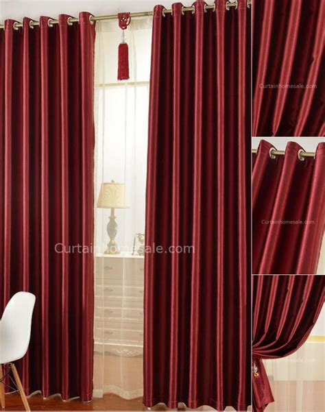 best fabric for curtain lining thick blackout curtain lining fabric in red color