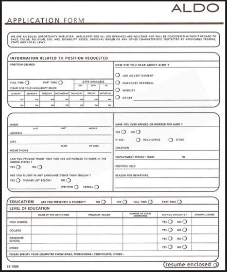 printable job application for aldis 6 best images of aldi job application printable out aldi