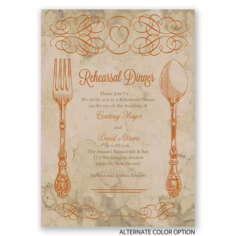 elegant dinner elegant dining rehearsal dinner invitation invitations