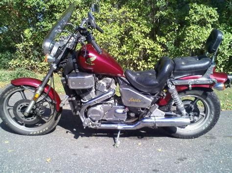 1986 Honda Shadow by 1986 Honda Shadow 700 Repairable 30 620 For Sale On