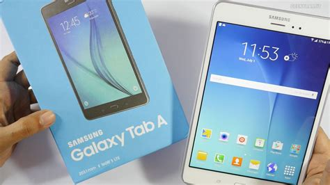 Terbaru Samsung Galaxy Tab A 8 samsung galaxy tab a 8 quot 4g tablet unboxing overview