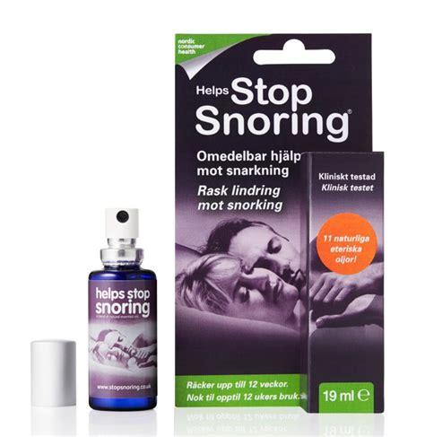 Stop Anytame Xl 0 19 k 246 p helps stop snoring munspray 19 ml p 229 apotea se
