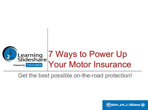 7 Ways To Boost Power by 7 Ways To Power Up Your Motor Insurance