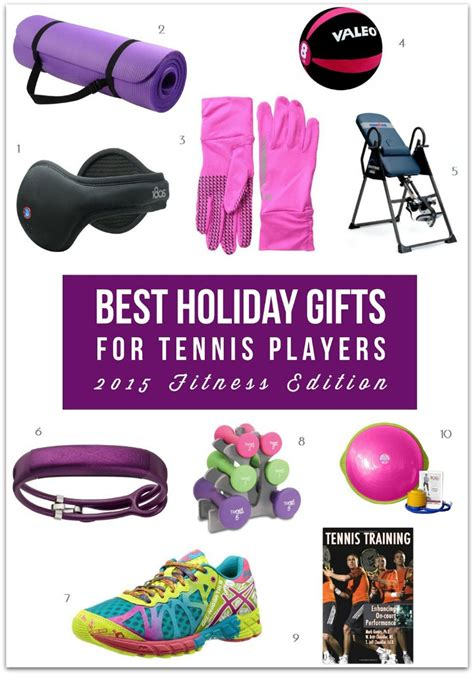 best holiday gifts for tennis players 2015 fitness edition