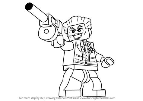 lego joker tutorial learn how to draw the joker from the lego batman movie