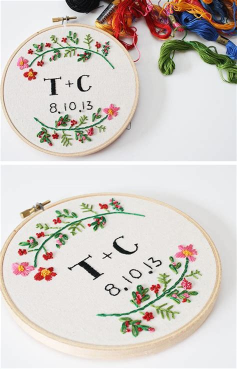 embroidery wedding 25 unique embroidery hoops boho wedding decor ideas deer