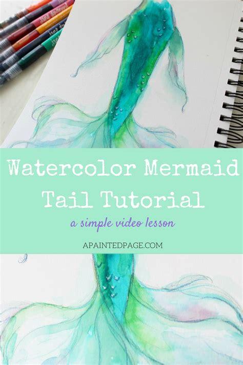 watercolor tattoo tutorial best 25 watercolor mermaid ideas on mermaid