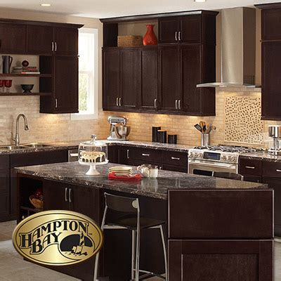 kitchen cabinets dark brown dark brown kitchen cabinets at the home depot