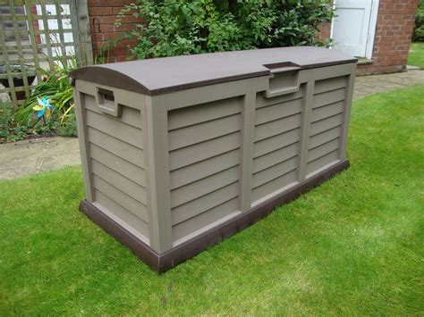 Waterproff Storage garden storage box large plastic keter shed chest