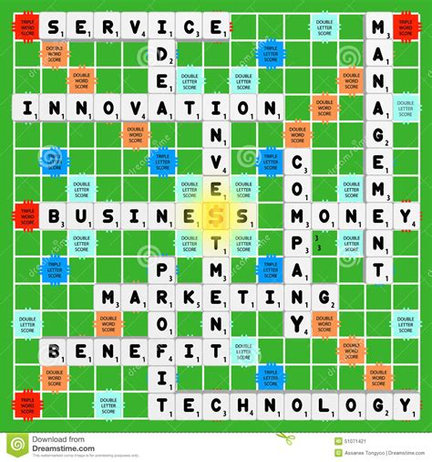 y scrabble business scrabble stock vector image of management