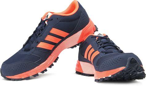 Sepatu Murah Adidas Maraton Tr10 2 adidas marathon 10 tr m trail running shoes buy navy color adidas marathon 10 tr m trail