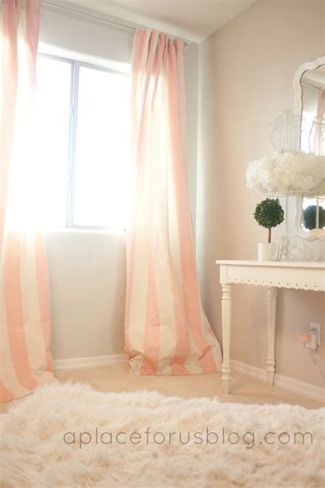 pink and white curtains for nursery pink and striped curtains overstock just destiny