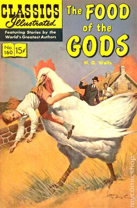 of the gods books classics illustrated 160 the food of the gods 1961 comic