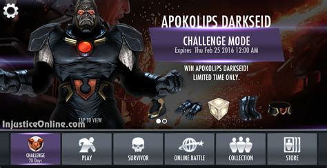 injustice gods among us mobile apokolips darkseid