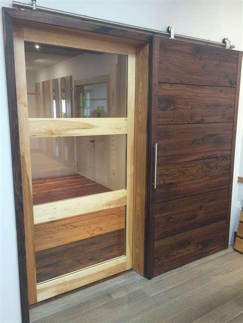 wide barn doors wide plank hardwood barn doors