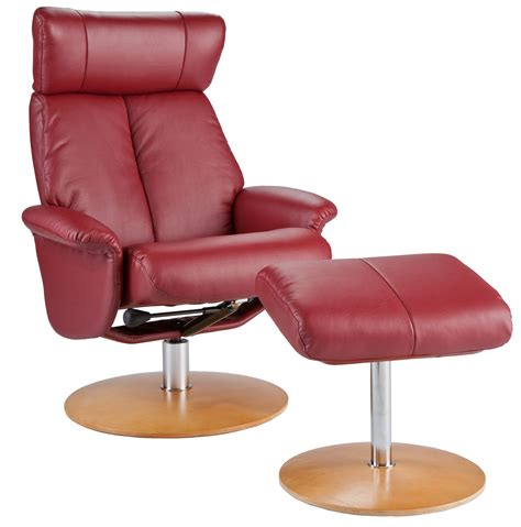 red leather recliners sale holly martin bennett euro style recliner and ottoman in