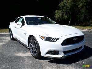 2016 oxford white ford mustang gt coupe 107952200