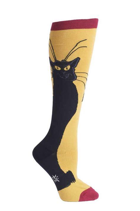 sock cat clothes roller derby apparel clothing chat noir socks dress