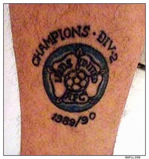vinny tattoo wafll leeds united pics vinnie jones