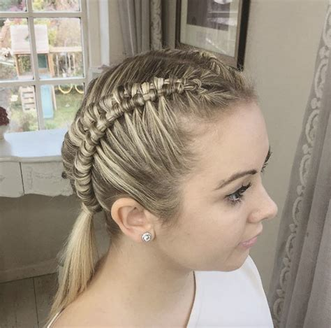 cute hairstyles zipper braid 60 boxer braid hairstyles for your sporty side style skinner