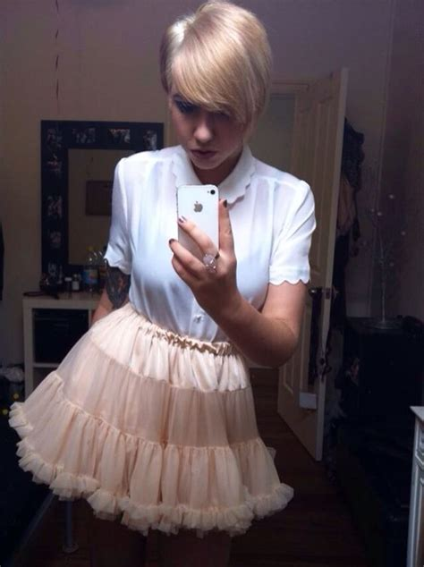mom feminized teenage son loge hair for punishment skirts and petticoats on pinterest