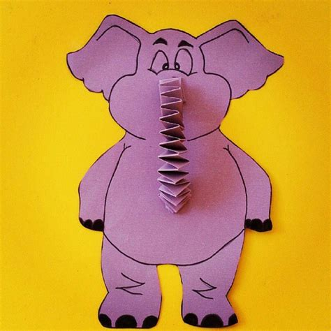 elephant craft for elephant craft idea for crafts and worksheets for