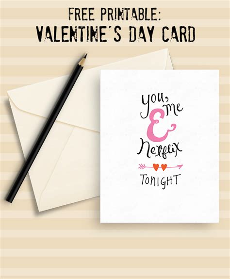 valentines netflix free netflix printable s card make and takes