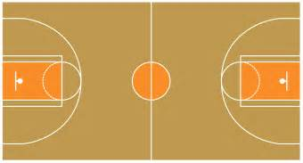 basketball floor clipart 31