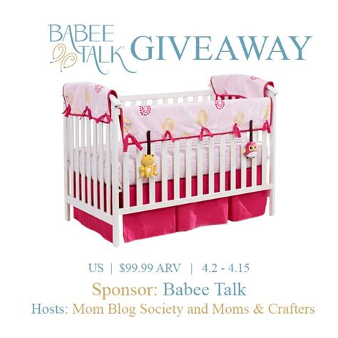 Free Baby Crib Giveaway - welcome to the babee talk crib bedding giveaway ends 04 15 15 it s free at last