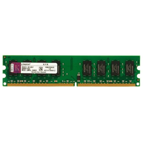 Ram Ddr2 2 Giga Vgen kingston valueram 2gb ddr2 667 pc2 5300 pccomponentes