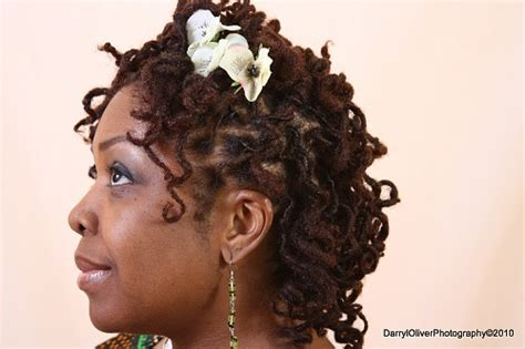wedding hairstyles for dreadlocks curly dreadlock wedding hairstyle thirstyroots