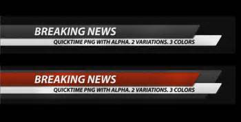 breaking news corporate lower third pack 7 in 1 by