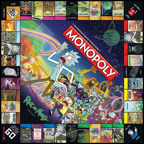 Deck Boxes Canada by Rick And Morty Monopoly Thinkgeek