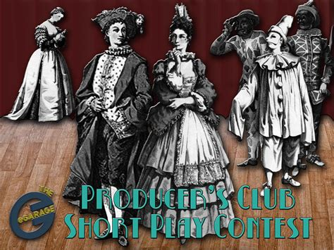 producers club short play contest announced   short plays list