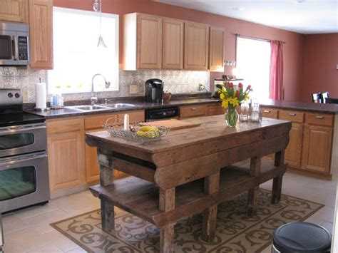 old kitchen island heir and space tables as kitchen islands